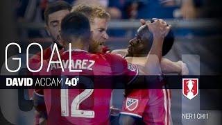 Lamar Hunt U.S. Open Cup Semifinal: New England Revolution vs. Chicago Fire: David Accam Goal