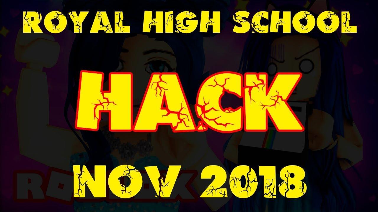 Royal High School Hack Roblox Exploit Script November 2018