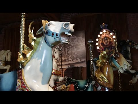 The New England Carousel Museum Visit