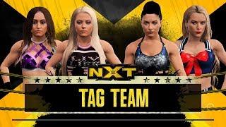 WWE 2K17 - Aliyah and Liv Morgan VS Sonya Deville and Lacey Evans