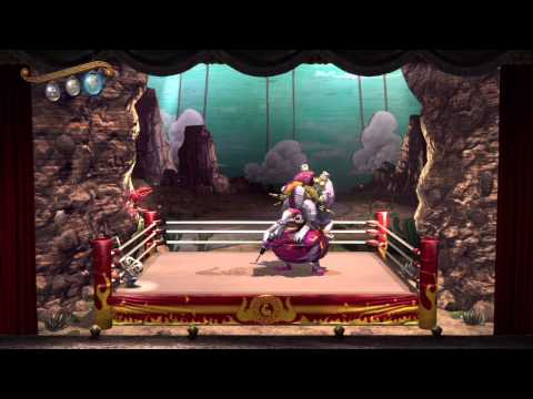 Puppeteer (PS3) - Act 4 Curtain 1 - HD Gameplay (No commentary)