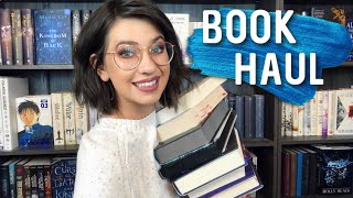 A BOOK HAUL OF ANTICIPATED RELEASES, BEAUTIFUL SPECIAL EDITIONS, & EXCITING SEQUELS