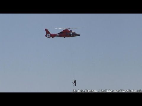 2016 Atlantic City Airshow - USCG MH-65 Search & Rescue