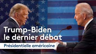 Trump vs Biden : un dernier débat sans vainqueur pour la présidentielle américaine