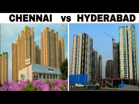 CHENNAI vs HYDERABAD Full Comparison(2017)|Population|Area|Plenty facts|Chennai City|Hyderabad City