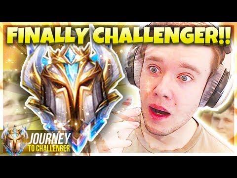 I FINALLY GOT CHALLENGER WOW RANK 1 NEXT - Journey To Challenger  LoL