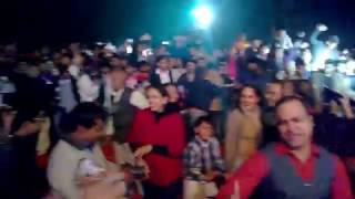 gecuits dance masti with meet bros and khushboo grewal live concert in gj uec ujjain