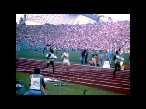 München 1972 [VINCE MATTHEWS]  400m men Amateur Footage