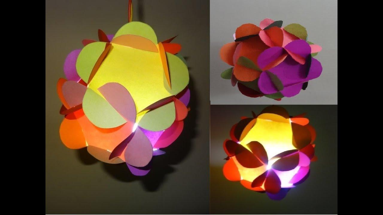 Paper Craftshome Decoration Ideas 3d Paper Flower Ball