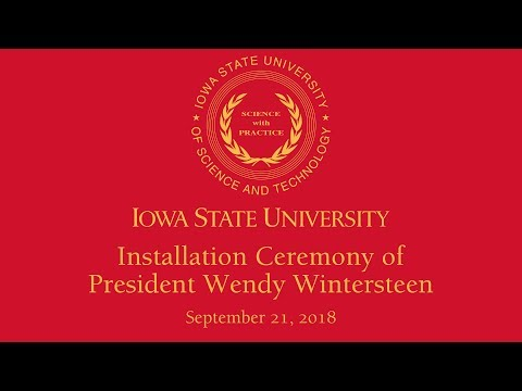 Installation Ceremony of President Wendy Wintersteen