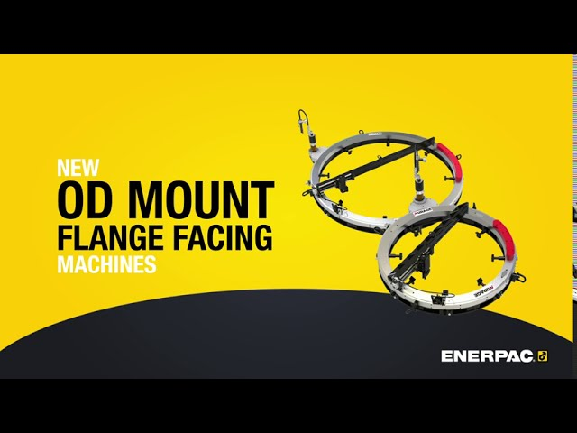 MME-Series - OD Mount Flange Facing Machines - Enerpac Event