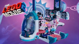 Pop-Up Party Bus - THE LEGO MOVIE 2 - 70828 Product Animation