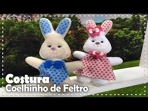 COELHO DE FELTRO com Rosana Noriko - Programa Arte Brasil - 01/03/2018