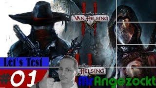 angezockt The Incredible Adventures of Van Helsing II #01 - Preview & Gameplay [PC, HD+, deutsch]