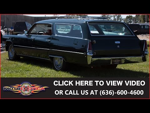 1969 Cadillac DeVille Wagon For Sale