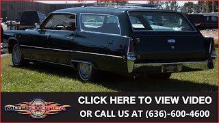 1969 Cadillac DeVille Wagon For Sale