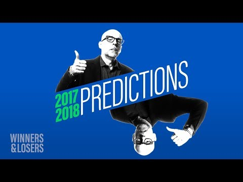 Prof Galloway's 2017 / 2018 Predictions
