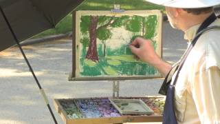 The Secret To Pastel Painting En Plein Air With Michael Chesley Johnson