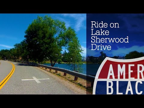Drive Time - Chill Ride on Lake Sherwood Dr in Ventura County, California