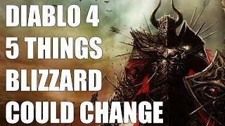 DIABLO 4 - Five Things We Hope Blizzard Changes