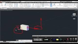 Урок 2  3D примитивы 3D моделирование в AutoCAD 2014