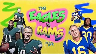 NFL Week 15 Eagles @ Rams Sunday Night Football Intro
