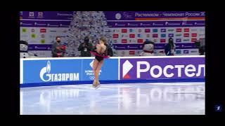 Как изменились прыжки Трусовой у Плющенко за год