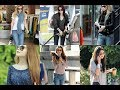 Beautiful and stylish girls with jeans and glasses || latest collection