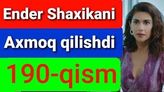 Qora Niyat 190 qism uzbek tilida turk filim кора ният 190 кисм