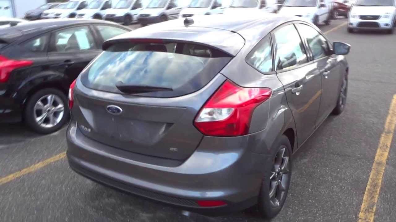2013 ford focus se hatchback full tour engine overview youtube. Black Bedroom Furniture Sets. Home Design Ideas