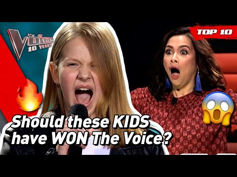 The BEST FINALISTS of all time in The Voice Kids! ❤️✨ | #TheVoice10YRS