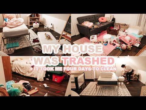CLEAN ORGANIZE & DECLUTTER WITH ME 2020 (ULTIMATE CLEANING MOTIVATION + MESSY HOUSE TRANSFORMATION)