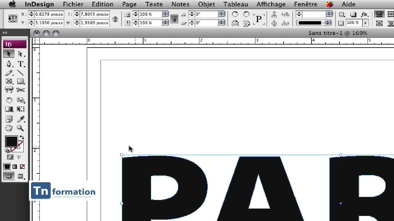 typo indesign