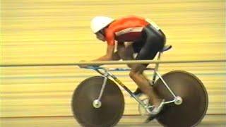 Велоспорт - трек. Чемпионат СССР 1989. ИГП 4 км.