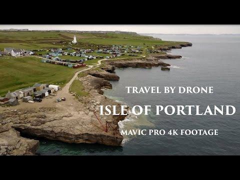 TRAVEL BY DRONE - DJI MAVIC PRO 4K - ISLE OF PORTLAND
