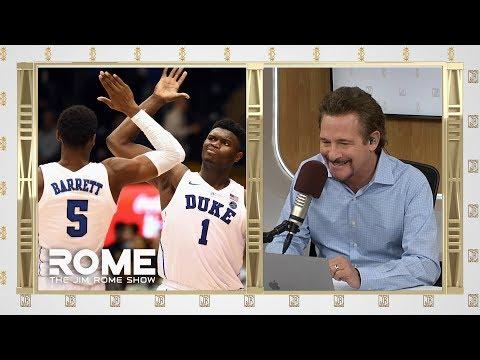 Coach K Talks R.J. Barrett and Zion Williamson   The Jim Rome Show