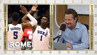 Coach K Talks R.J. Barrett and Zion Williamson | The Jim Rome Show