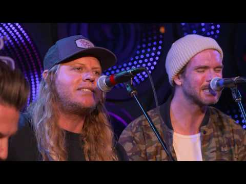 "The Dirty Heads Perform ""Celebrate"" With Kyle From The Unlikely Candidates"