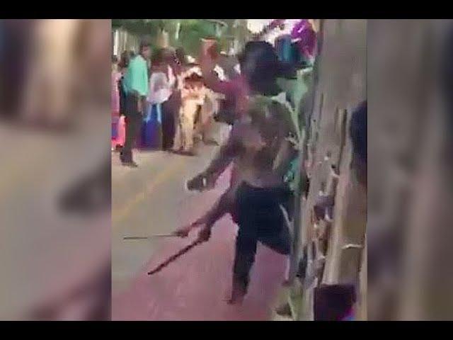 Videos of Chennai students dragging machetes and knives along rail platform surface, cops probe
