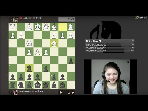 Playing Crazyhouse Chess against GM Jon Ludvig Hammer on chess.com