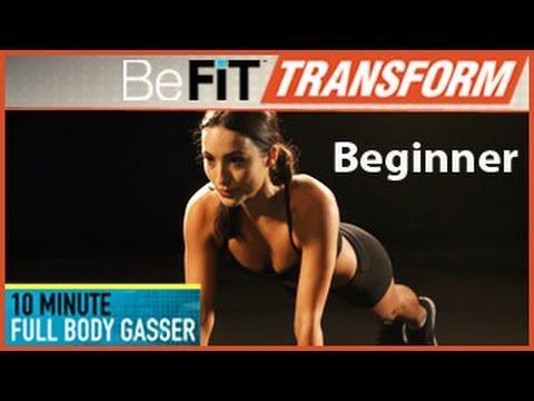 10 Min Full Body Gasser Workout- Beginner Level