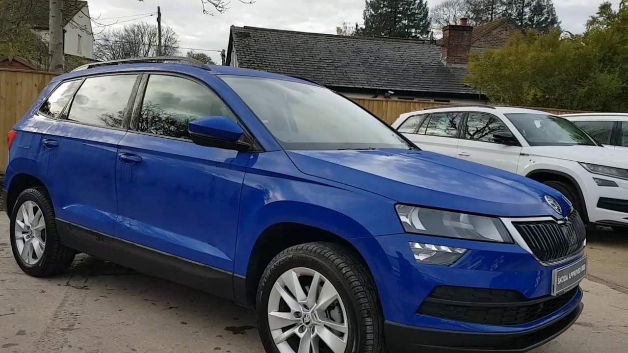 2019 Skoda Karoq 1.5 TSI SE Technology DSG in Energy Blue ...