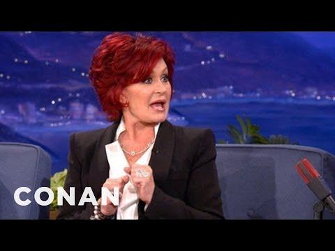 "Sharon Osbourne: Simon Cowell Has ""Small Willy Syndrome"" - CONAN on TBS"