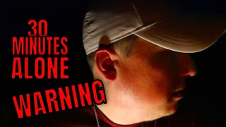 (ALONE CHALLENGE) ABANDONED HAUNTED TOM GASKINS MUSEUM, ROB'S TURN TO TAKE THE ALONE CHALLENGE