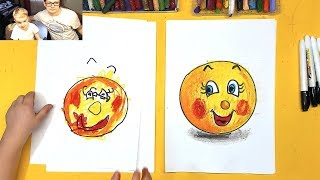 Колобок из СКАЗКИ рисуем с Павликом