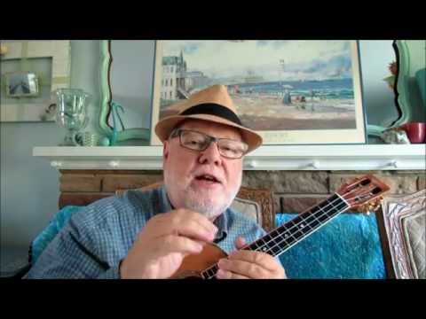 GREENSLEEVES - Chord/Melody arrangement by Ukulele Mike Lynch