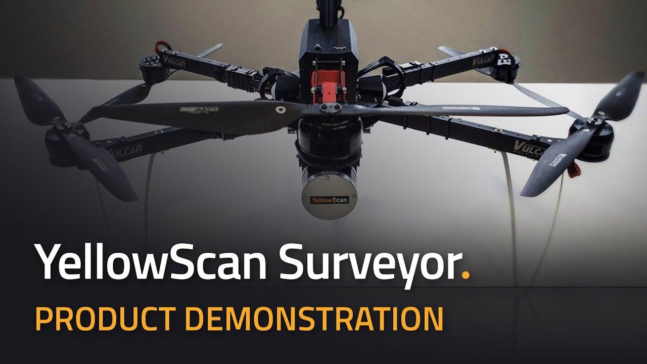 Turning UAV and Lidar into Something Beautiful