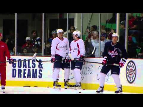 Alex Ovechkin Mic'd Up at Hockeyville Skate 9/14/13
