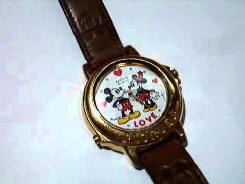 Mickey & Minnie Mouse Musical Beatles Watch