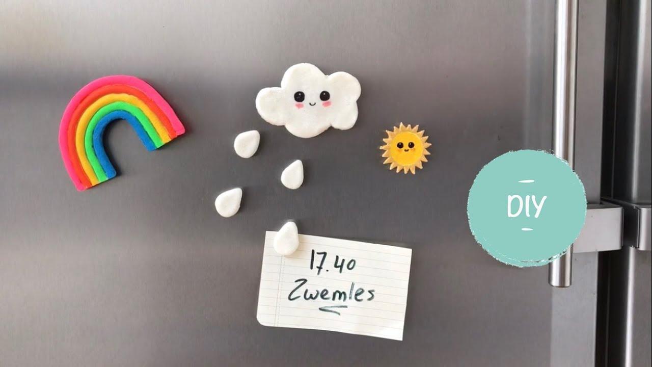 Ongebruikt Leuk! Koelkast magneten maken van zoutdeeg - YouTube NG-36